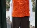 Ensemble homme 1er empire orange